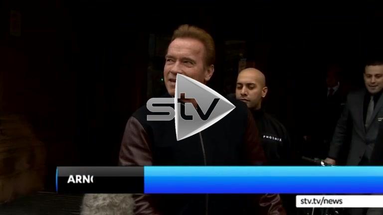 Arnie in Edinburgh
