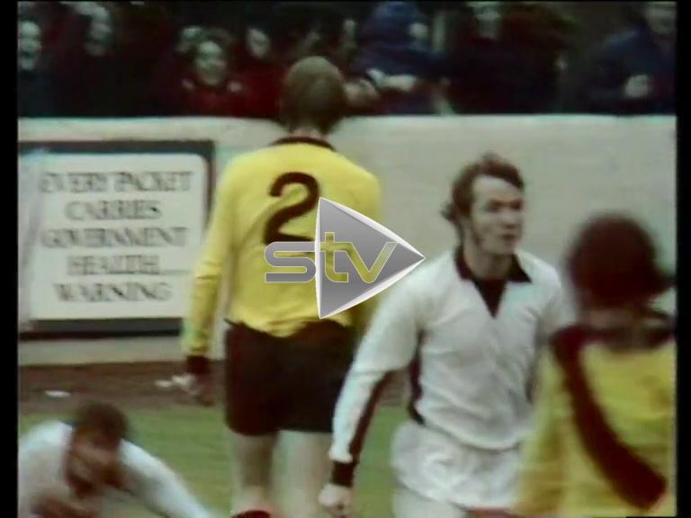 Alex Ferguson Scores for Ayr Utd. 1973