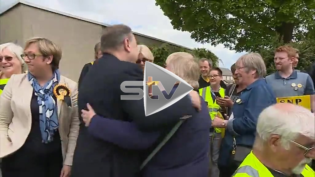 Alex Salmond Meets Supporters