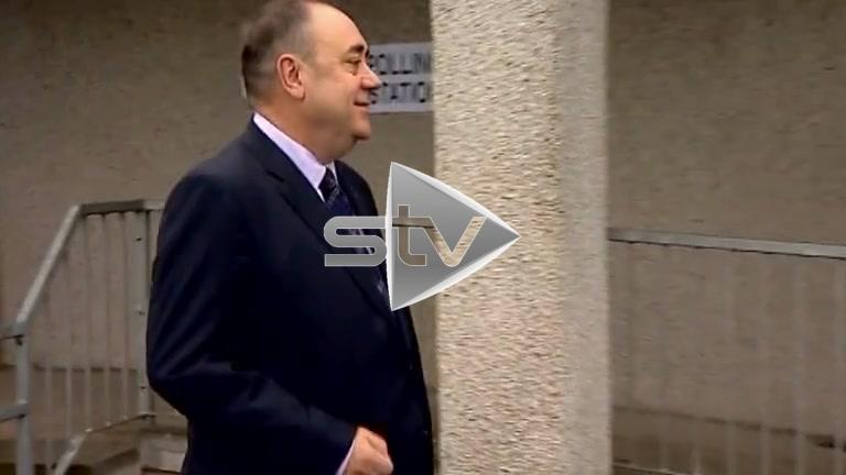 Independence Referendum – Alex Salmond Votes
