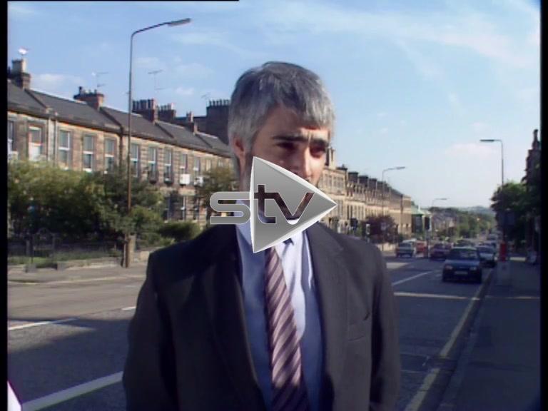 Alistair Darling on Proposed Edinburgh Metro System