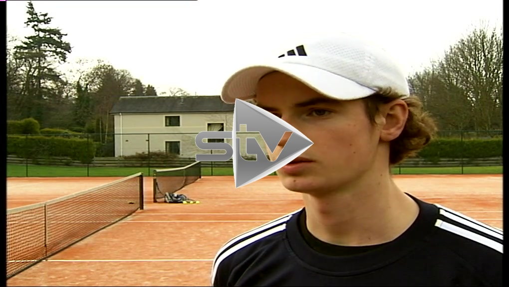 Andy Murray Interview 2004