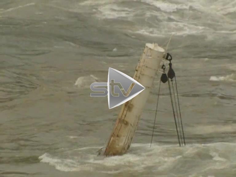 MV Braer Oil Tanker Wreck
