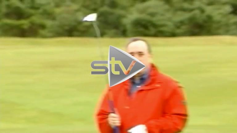 Connery & Salmond Playing Golf