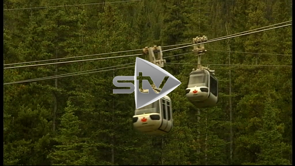 Canadian Rockies Cable Car