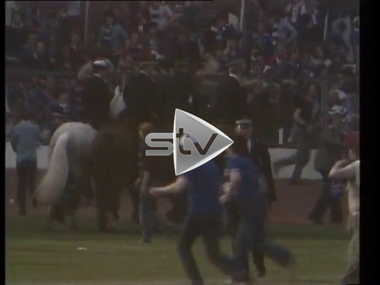 1980 Scottish Cup Final Riot