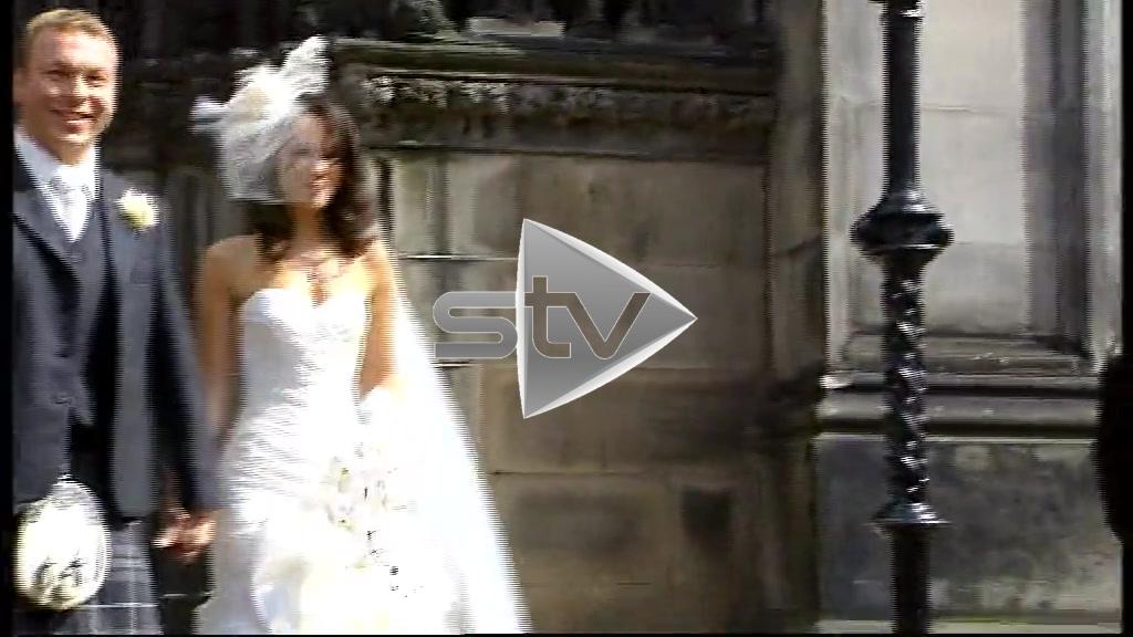 Sir Chris Hoy's Wedding Day
