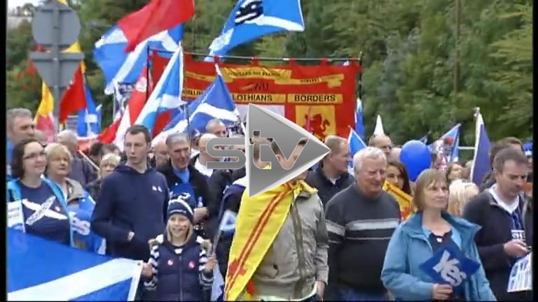 Independence Referendum – Yes Campaign Rally