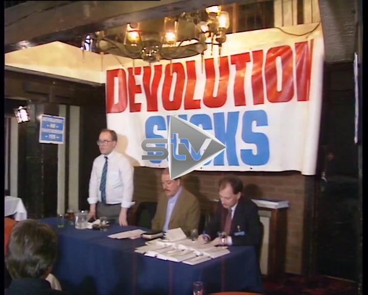 """Devolution Sucks"" Meeting with Michael Forsyth"