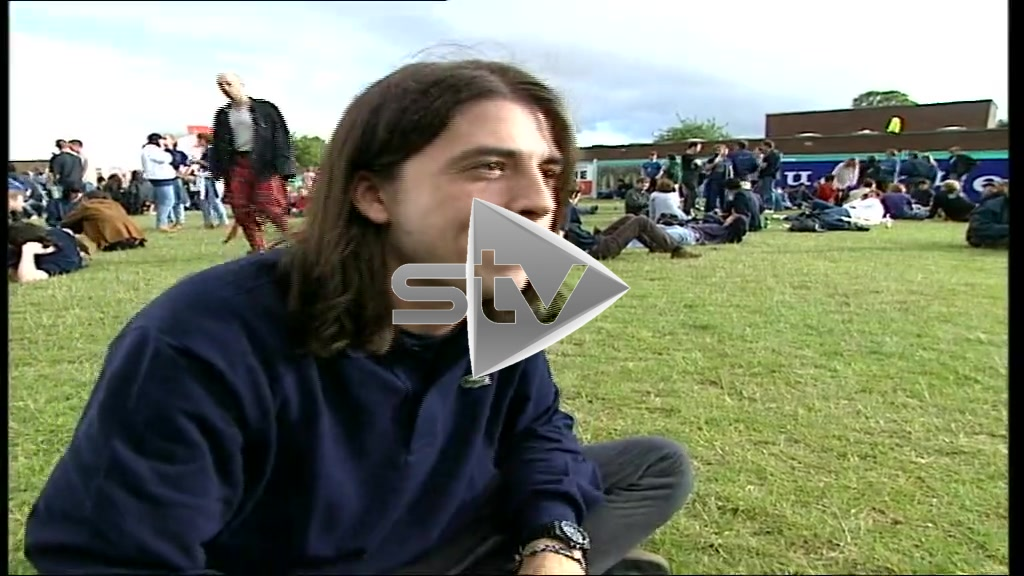 Dave Grohl at T in the Park