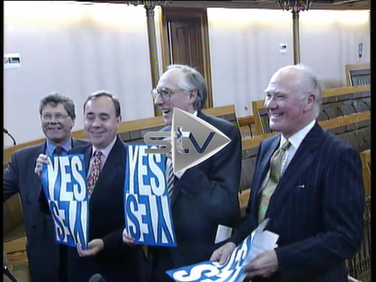 """Devolution Referendum – """"Yes Yes"""" Cross Party Campaign."""