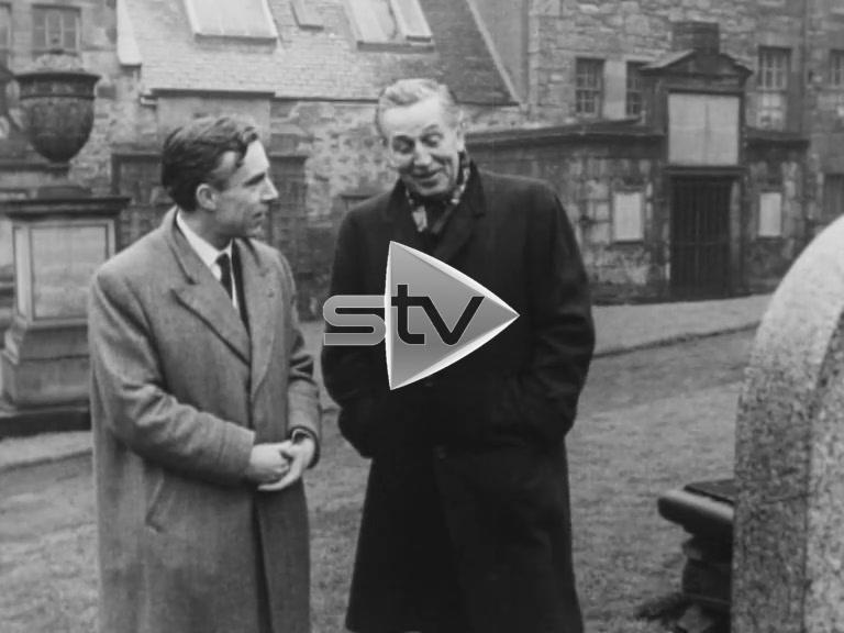 Walt Disney at Greyfriars Kirkyard