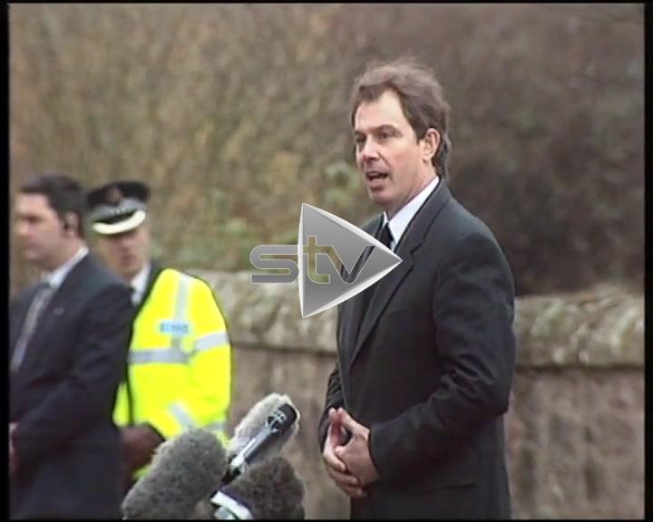 Party Leaders Visit Dunblane