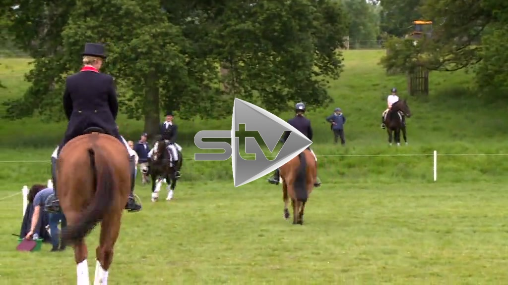 Zara Phillips at Horse Trials
