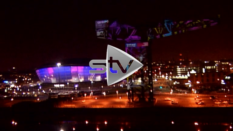 Hydro Lit up for the MTV EMAs