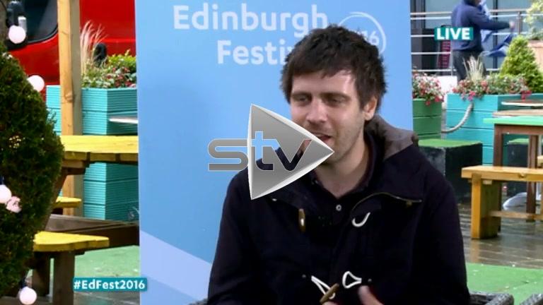 Ed Patrick at Edinburgh Fest 2016