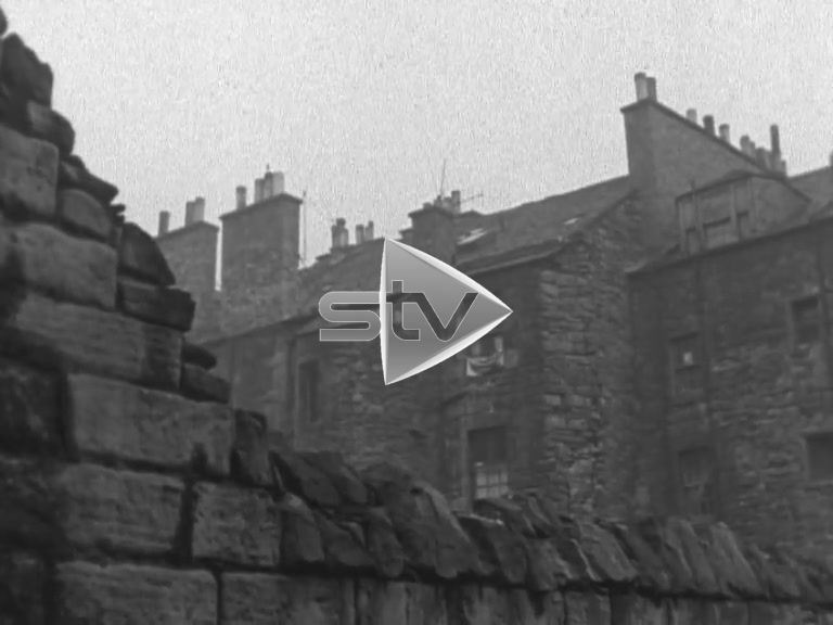 Edinburgh Old Town 1960
