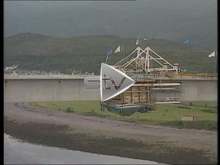 Skye Bridge Almost Complete