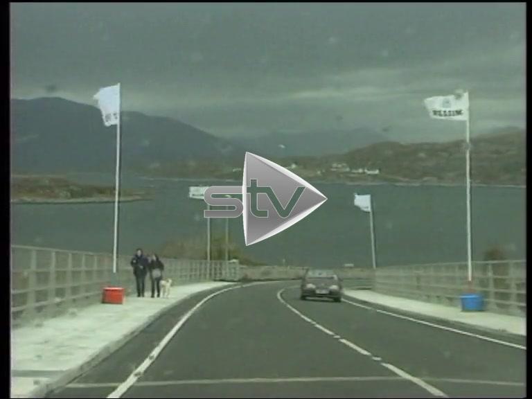 Skye Bridge Opened
