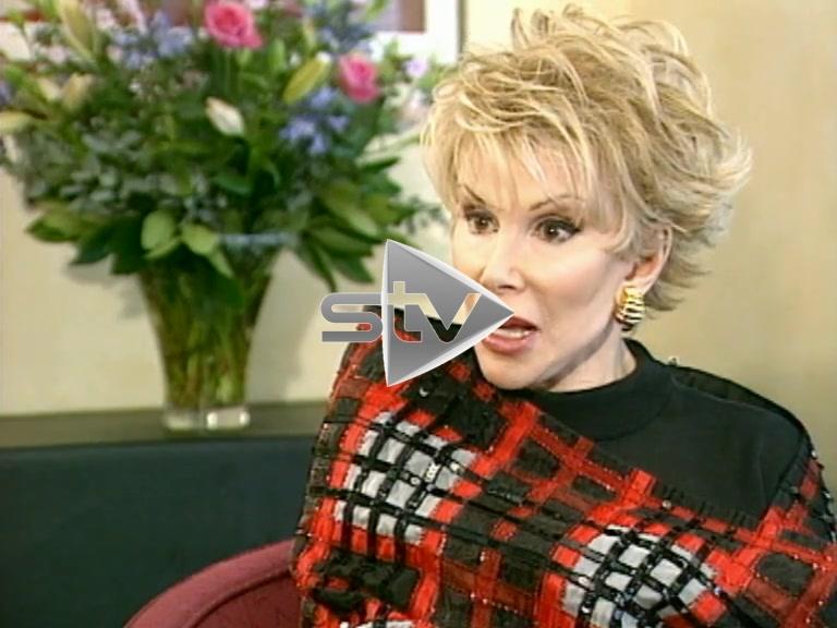 Joan Rivers on Scotland