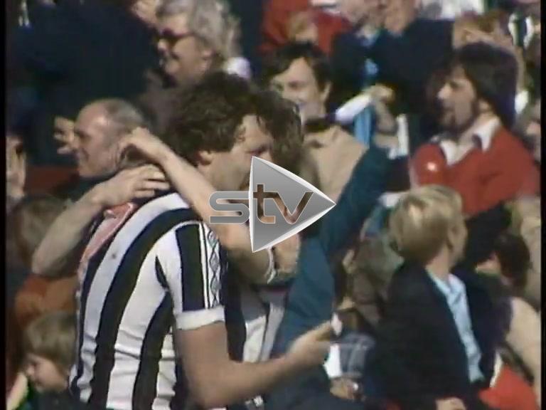 St Mirren vs Hibs April 1980