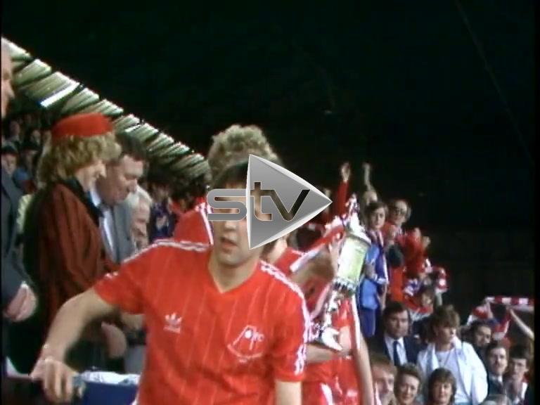 Aberdeen Win Scottish Cup 1983