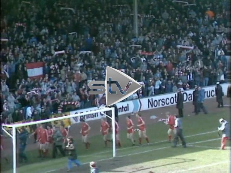 Aberdeen Win League Championship 1985