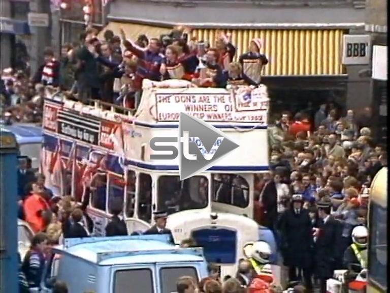 Aberdeen Win European Cup 1983