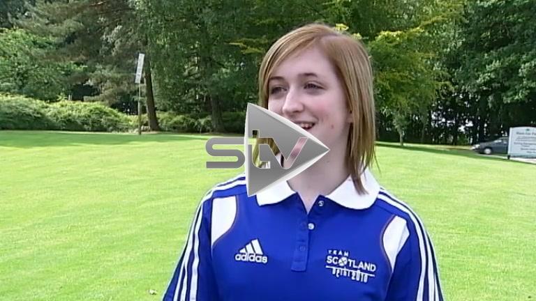 Amy Reagan Team Scotland 2010