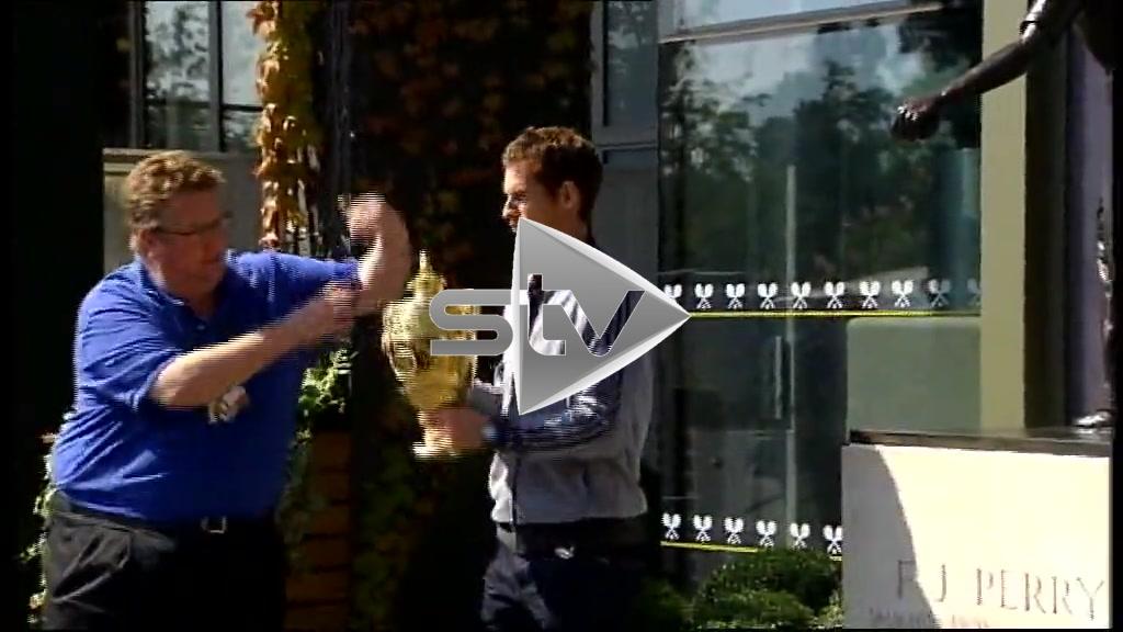 Andy's Wimbledon Trophy