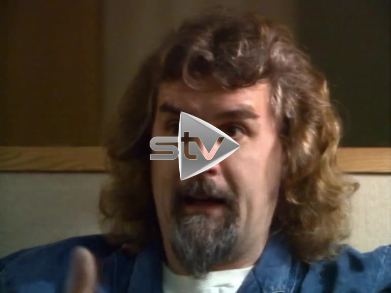 Billy Connolly on Performing in Glasgow