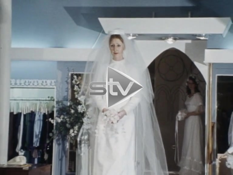 Seventies Bridal Fashions