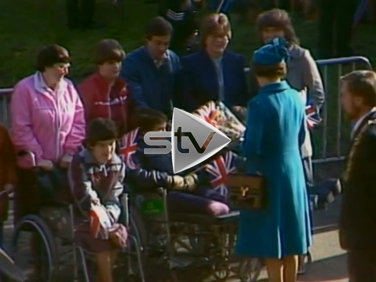 The Queen Admires The Burrell Collection
