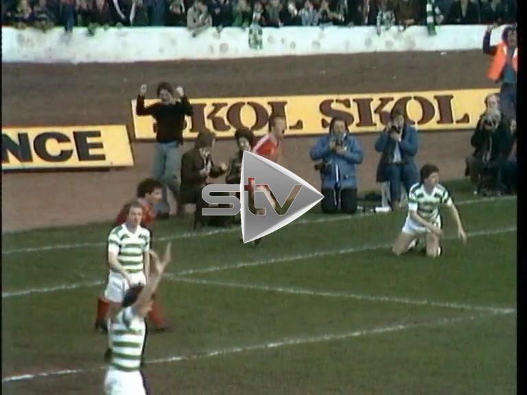 Aberdeen vs Celtic April 1980