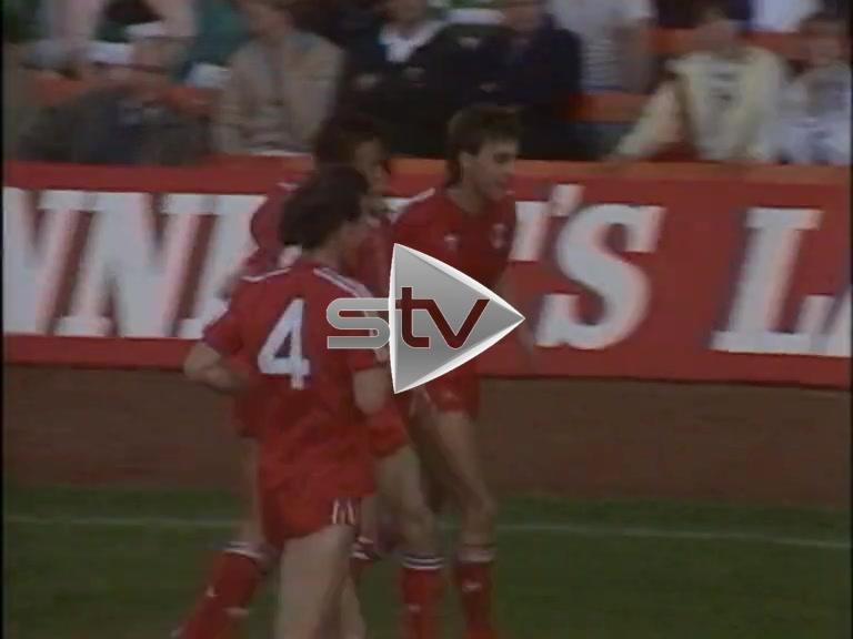 Aberdeen vs Celtic August 1986
