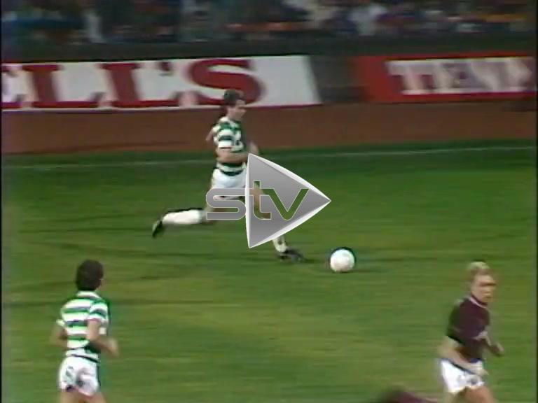 Celtic vs Hearts October 1986