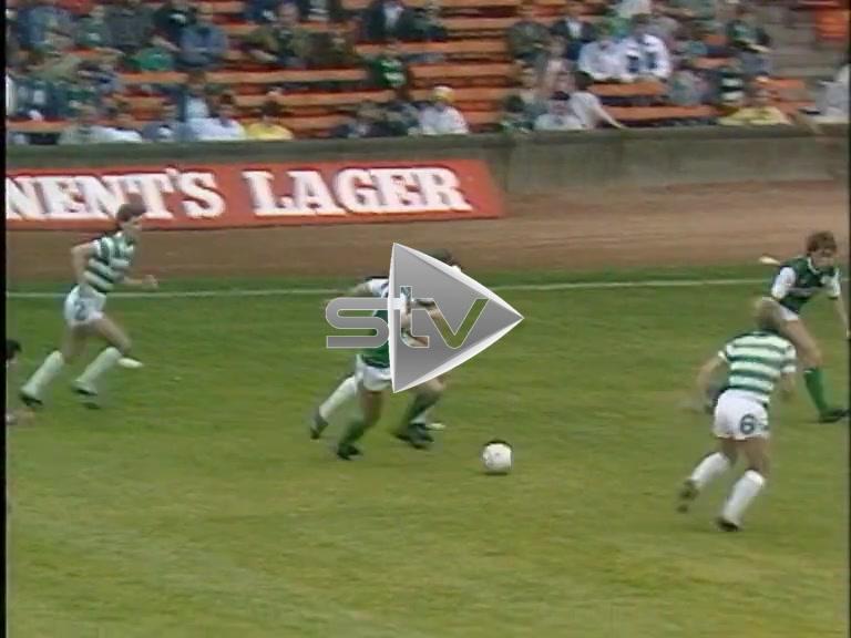 Celtic vs Hibs September 1986