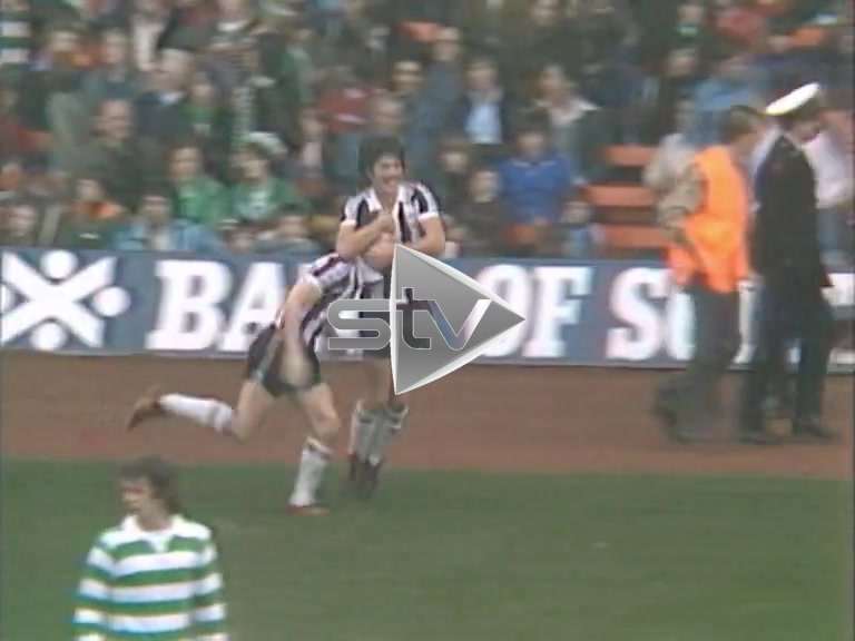 St Mirren vs Celtic October 1977