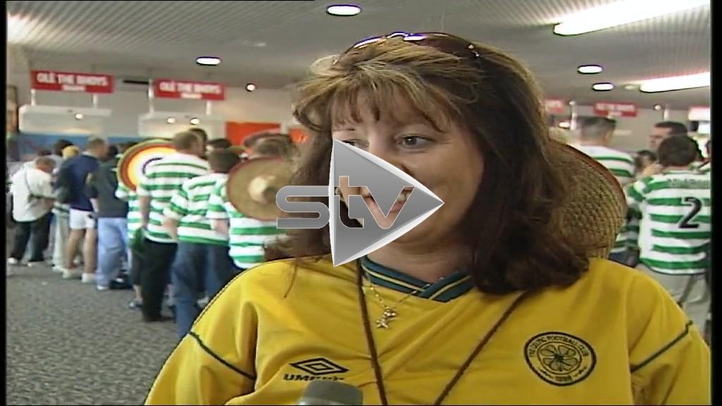 Celtic Fans off to Seville