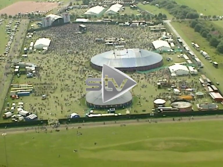 T in the Park Aerials