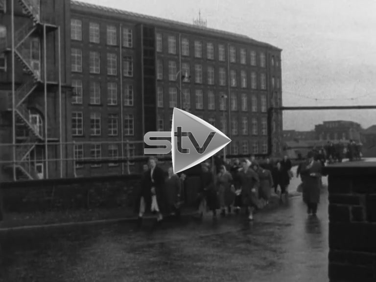 Coats of Paisley Workers Leaving
