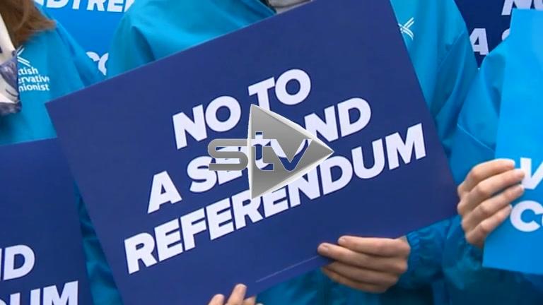 GE2017 Conservatives Campaign in Edinburgh