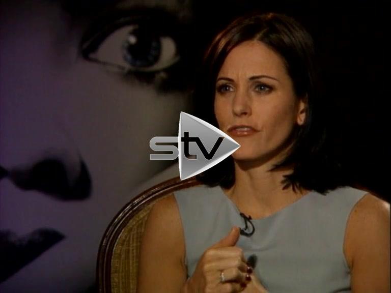 Courtney Cox Interview