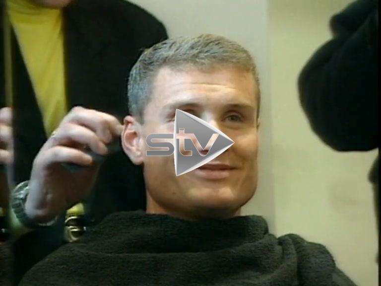 David Coulthard Goes Gray