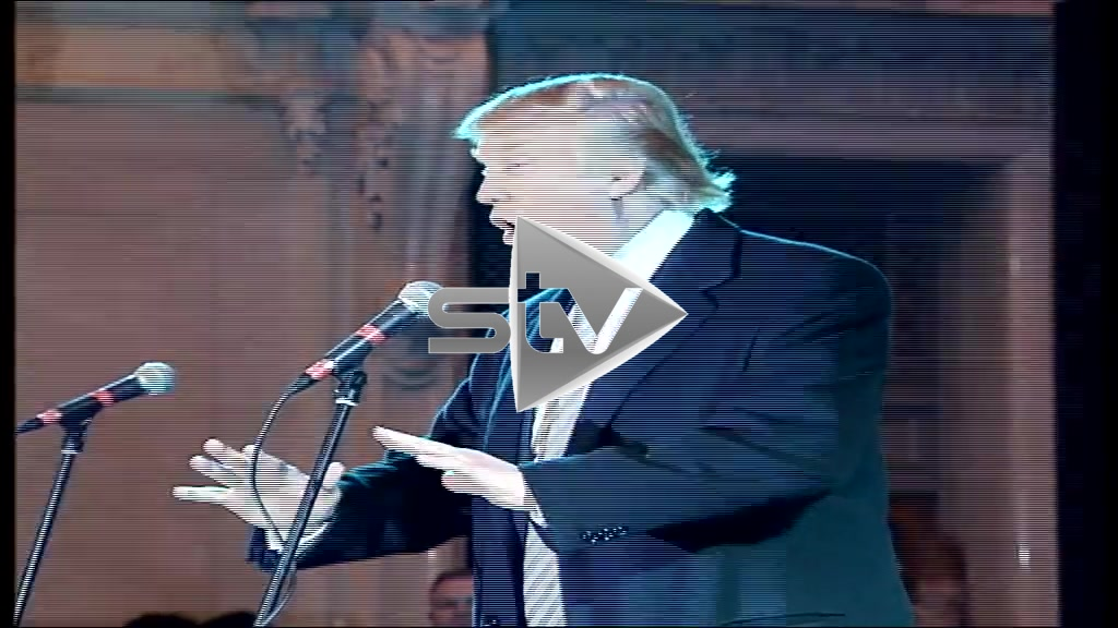 Donald Trump at Tartan Week