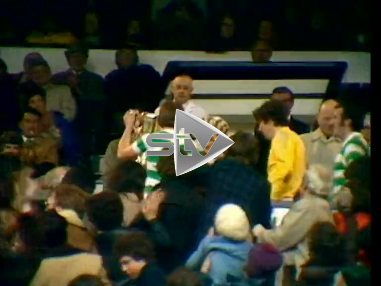 Kenny Dalglish Lifts Scottish Cup 1977