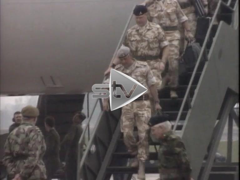 Gulf War Troops Return