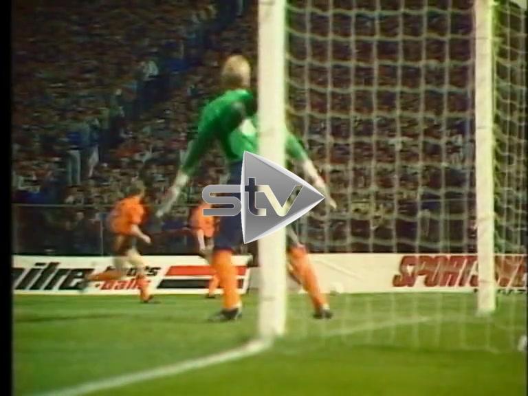 Skol Cup Semi Final 1986
