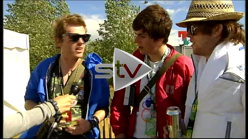 The Dykeenies at T in the Park