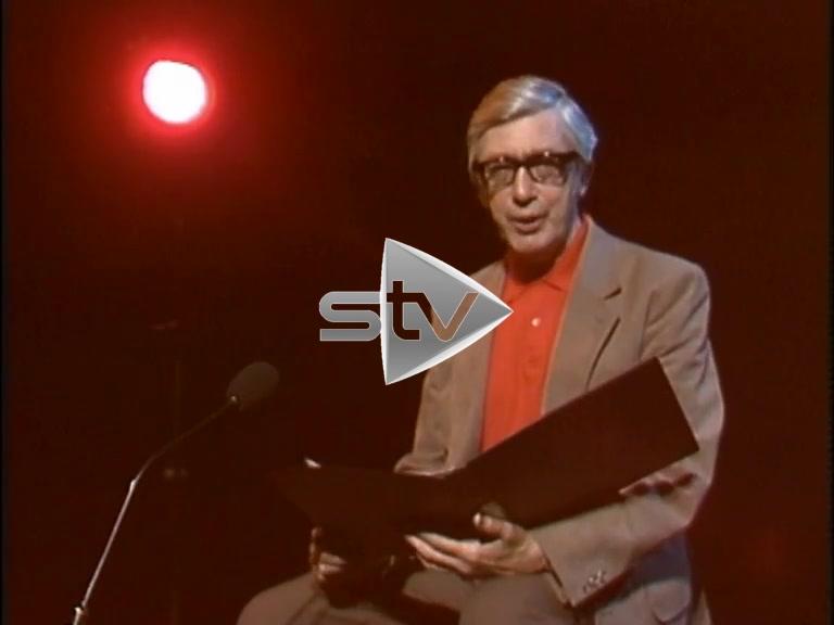 Edwin Morgan Performs Caledonian Antisyzygy